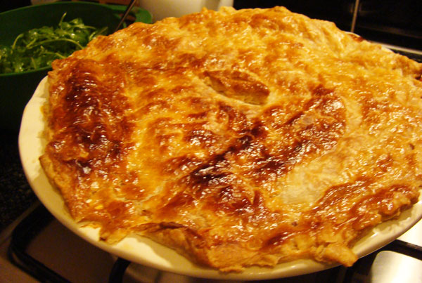 Potato, leek and mushroom pie | Lady Rhubarb